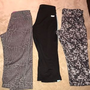 Cropped Workout Pants